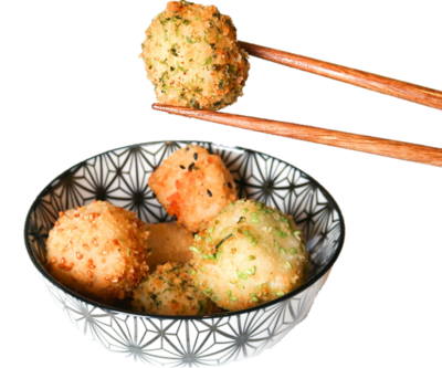 Sushi Bitterballen Zalm, 40 stuks