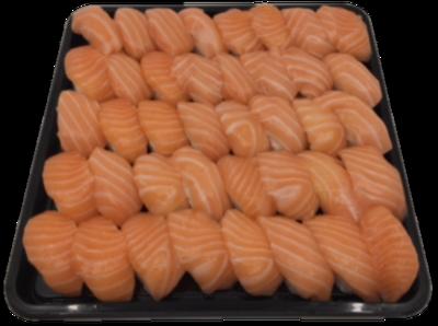 Nigiri Zalm, tray, 40 stuks